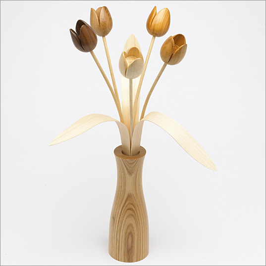 Plans to build Wood Tulips PDF Plans